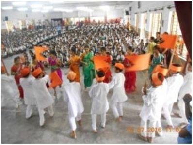 Grand celebration of Aashadhi Ekadashi at School