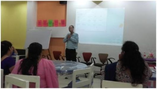 Work shop for teachers on enhancing teaching skills in science at School