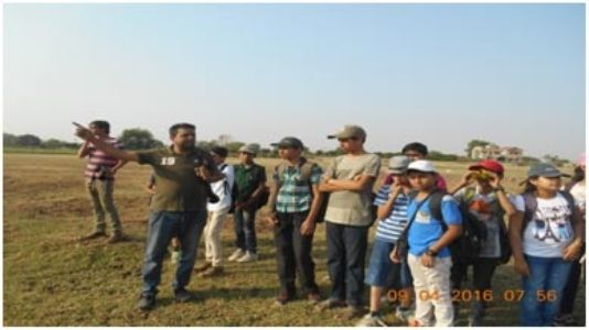 Heronary club conducts Bird Watching Activity