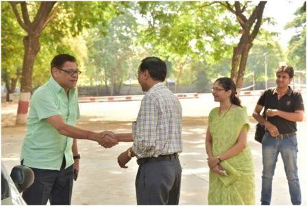 Renowned Actor Shri Mohan Joshi visit's School